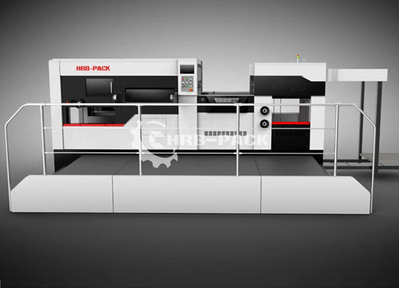 Automatic Flat Bed Creasing And Die Cutting Machine