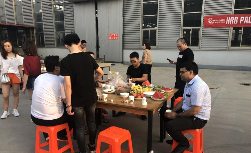 HRB PACK BBQ PARTY 2018