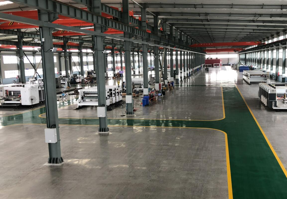 NEW FACTORY WORKING