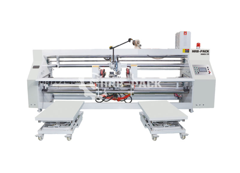 HRB-3000 Semi-Auto Stitcher Machine Double Piece Double Head