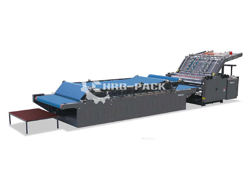 HRB-H Semi Automatic Flute Laminator Machine