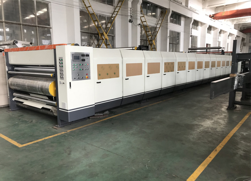 Double Facer Machine