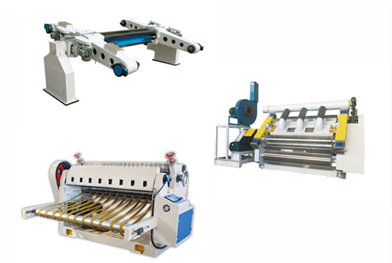 Electric heating corrugated single facer line