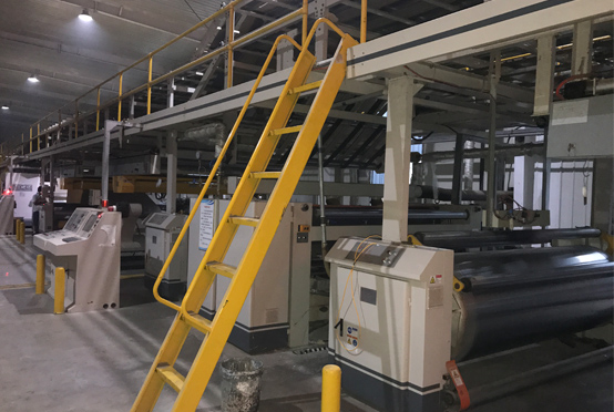 Automatic 3 ply corrugated line