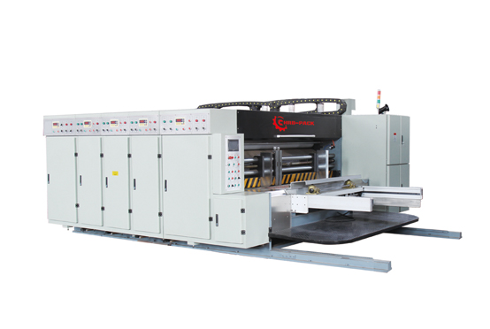 Economic Lead Edge Feeder Printer Slotter Die Cutter with Stacker i